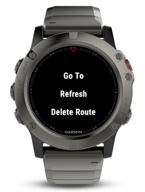 Using dwMap on your watch – dynamicWatch Help Center